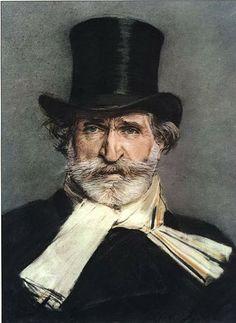 Giuseppe Verdi, the celebrated portrait by Giovanni Boldini, 1886 (National Gallery of Modern Art, Rome). Giovanni Boldini, Classical Music Composers, Gallery Of Modern Art, Art Gallery, British Library, British Museum, Belle Epoque, Portrait Art, Male Portraits