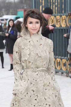 Miroslava Duma's classic crown & more of the best braids at fashion week.
