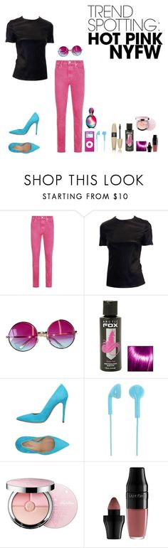 """Untitled #441"" by aliss-15 ❤ liked on Polyvore featuring Victoria's Secret, Paige Denim, Janis, Hot Topic, Marco Barbabella, Happy Plugs, Guerlain, Lancôme, Missoni and contestentry"