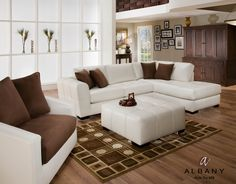 Furniture Stores In Phoenix: Amazing Furniture Stores In Phoenix With White  Cool Sofas Brown Ikea Pillows Also White Brown Sectional Sofa As Well  Modern ...