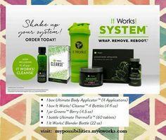 GET SUMMER READY WITH THE ITWORKS SYSTEM. VISIT: mypossibilities.myitworks.com #itworks #itworkssystem #weightloss #betteryourself