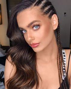 natürliche make-up morenas videos - Cute Makeup, Gorgeous Makeup, Hair Makeup, Makeup Eyes, Glam Makeup, Beauty Make-up, Beauty Hacks, Hair Beauty, Beauty Tips
