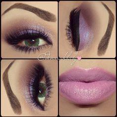 #lip #mua #purple #lavender #subtle