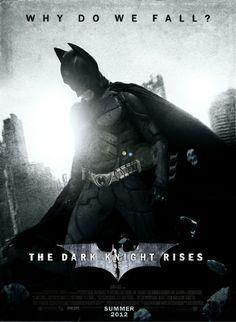 The Dark Knight Rises Batman 2012 Movie Poster 17x13''