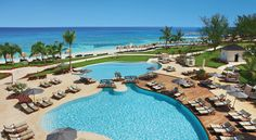 Preferred Club Pool at  Secrets St. James Montego Bay in Jamaica #travel