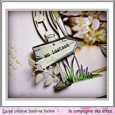 Tampon panneau direction - Tampons La compagnie des elfes. #travel #rubberstamp #scrapbook #scrap