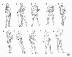 New Drawing Poses Male Sketch Character Design Ideas Male Pose Reference, Figure Drawing Reference, Design Reference, Anatomy Reference, Male Figure Drawing, Body Reference, Drawing Poses Male, Sketch Poses, Human Poses