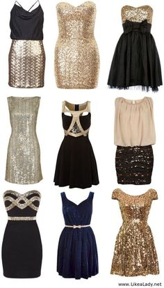 nye outfits 2014 - Google Search (top left or bottom left and middle bottom)