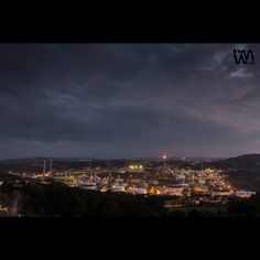 #refineria una ciudad industrial dentro de #acoruna www.wifremelendrez.com