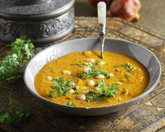 Harira soup is a traditional Moroccan recipe that you will love! It's the best choice for a cold day!