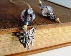 Beaded Bookmark    Fairy by DragonflyAdornments on Etsy, $8.00