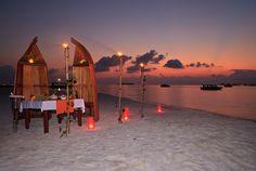Romantic Dinner at Sunset South Nilandhe Atoll, Maldives