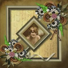 soft memories by lins creations Happiness Part 3 by Ilonka's Scrapbook Designs