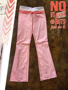 Lululemon size 4 - Lululemon Yoga Pants! Look adorable wearing these cuties at the gym! - $38  #lululemon #lululemonaddict #workit #letsGetphysical #posh #consignment #boutique #socute #motivation #shoplocal