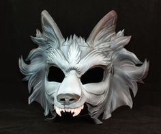 Grey and Black Direwolf Game of Thrones Nymeria by PlatyMorph, $200.00