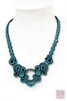 tia n492 , tian492 , turquoise necklaces , two tone necklaces ,