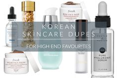 Korean Skincare Dupes For High End, Cult Favourites - 7 more dupes to share!