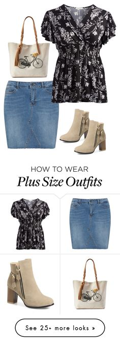 """""""Geen titel #936"""" by miriam-witte on Polyvore featuring JunaRose, jon & anna, SONOMA Goods for Life and plus size clothing"""