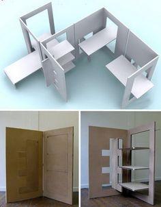 Fabulous Furniture Design Ideas Flat Pack Unique Chair Table (1)