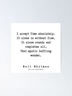 59     Walt Whitman Quotes   190803 Poster by QuotesGalore