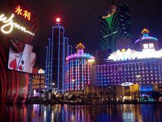 Macau, China. The new gambling capitol of the world!