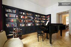 Vienna -- Whiskey Bar / Built-in bookshelves