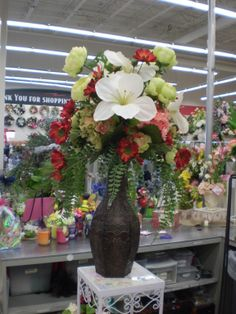 tall year round floral Sherrie Michaels NJ