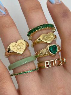 Nail Jewelry, Trendy Jewelry, Cute Jewelry, Jewelry Accessories, Fashion Jewelry, Jewlery, Funky Jewelry, Women Jewelry, Jewellery Rings