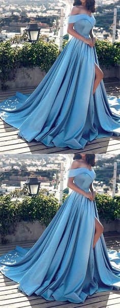 prom dresses,long prom dress,off-shoulder,prom 2017,blue prom dress