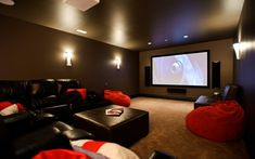 I wouldn't mind having this theater in my house one day.