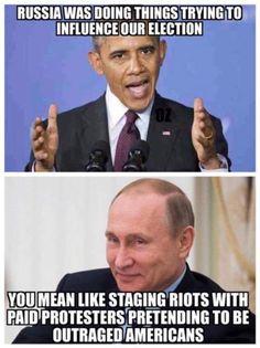 Russia was doing things . . . | Barack Obama & Vladimir Putin