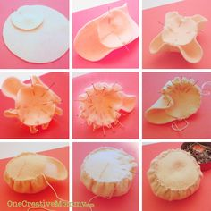 Steps for Making Ice Cream Scoops Part 2 {OneCreativeMommy.com}