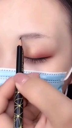 Fall Eye Makeup, Korean Eye Makeup, Makeup Eye Looks, Dark Skin Makeup, Eye Makeup Art, Eyeshadow Makeup, Natural Makeup, Eyebrow Makeup Tips, Makeup Tutorial Eyeliner