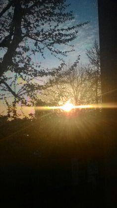 Il #sole visto dalla mia #finestra