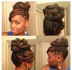 Really nice.... #hair #braids Box braids !
