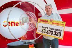 Un número le cambió todo a Óscar que se ganó Gs. 33.333.333 con el #Progresivo en el sorteo del 24/01/16