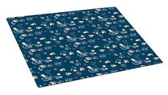 Drymate Large Cat Litter Box Mat with Pawcasso Design, 16-Inch by 20-Inch, Dark Blue - http://petproduct.reviewsbrand.com/drymate-large-cat-litter-box-mat-with-pawcasso-design-16-inch-by-20-inch-dark-blue.html