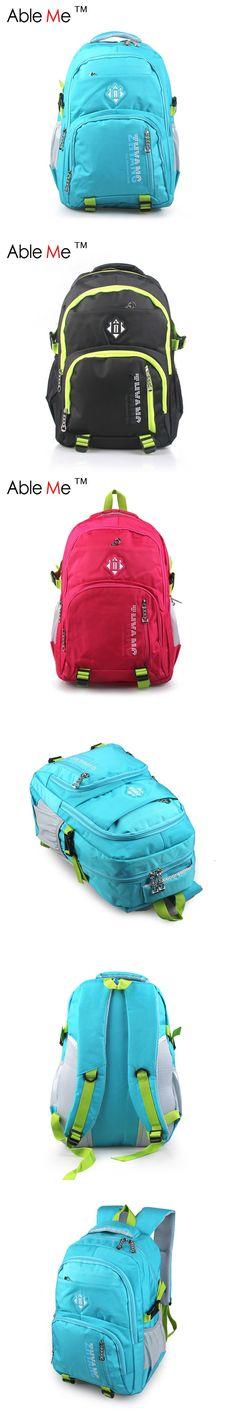 2016 Korean Style Nylon Children Backpack Large Capacity Kids School Bag Burdens Student Laptop Backpack For Teenagers