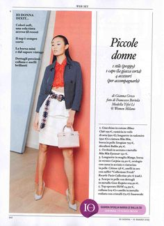 For a contemporary and chic woman. Ballin JEN BLUE on Io Donna Magazine. Ballin  Shoes cacd46e2d7b