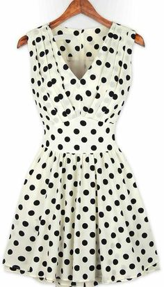 Adorable polka dot dress