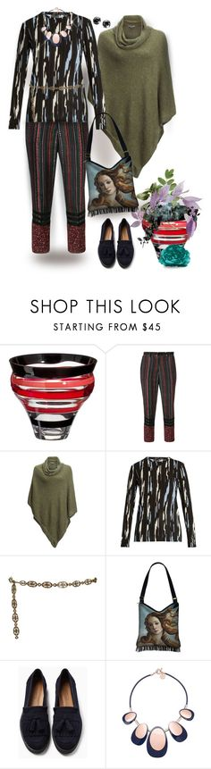 """""""Striped Top, Striped Pants"""" by jcmp ❤ liked on Polyvore featuring Carlo Moretti, Kavu, Proenza Schouler, Yves Saint Laurent and Witchery"""