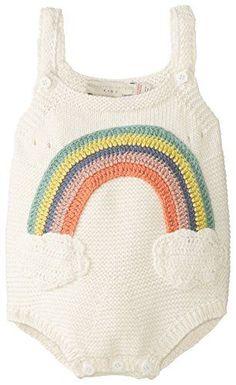 cutest romper EVER! // rainbow knit from stella mccartney