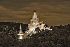 Temple in Myanmar  •  Near Mingu, Myanmar
