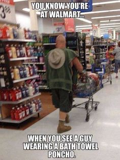 Here is awesome photo collection of funny people that grace us with their presence at Wal-Mart. Don't miss funny people of Walmart. Funny Walmart People, Funny Walmart Pictures, Walmart Shoppers, Go To Walmart, Only At Walmart, Funny People, Funny Photos, Funny Things, Walmart Humor