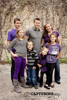 Family Portraits @ Capturing Joy with Kristen Duke This is my cute family!! Love how these pics turned out.