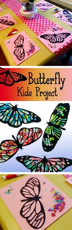 Ce cool kids apportée par activité nature à lintérieur. Cest impressionnant de regarder les enfants raccrocher leurs formes et voir le soleil « shine » vers le haut les couleurs. Enfants de tous âges apprécieront ce métier, mais aussi des adultes. Initialement, jai fait ces papillons lhiver dernier pour une activité de jeu. Après avoir vu les papillons et les oiseaux au jardin botanique, nous avons conçu ces capteurs de soleil. Tout le monde les aimait tellement, jai décidé de leur offrir…