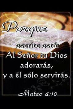 Exodo 20: 2-5   Yo soy Jehová tu Dios, que te saqué de la tierra de Egipto, de casa de servidumbre. No tendrás dioses ajenos delante de mí. No te harás imagen, ni ninguna semejanza de lo que esté arriba en el cielo, ni abajo en la tierra, ni en las aguas debajo de la tierra.No te inclinarás a ellas, ni las honrarás; porque yo soy Jehová tu Dios, fuerte, celoso, que visito la maldad de los padres sobre los hijos hasta la tercera y cuarta generación de los que me aborrecen,