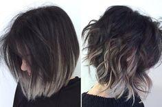 Top 17 Ombre Frisuren für kurze Haare Top 17 Ombre Frisuren für kurze Haare Neue Frisuren Ombré Hair, Hair Dos, New Hair, Wavy Hair, Wavy Curls, Messy Hair, Hair Inspiration, Fashion Inspiration, Hair Makeup
