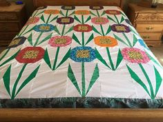 Queen size machine pieced patchwork quilt top #YP48 in Crafts, Sewing & Fabric, Quilting | eBay