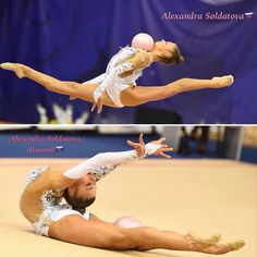 Alexandra  SOLDATOVA (Russia) ~ Collage Ball routine @ Russian National Championship in Penza 2017    Oleg Naumov.